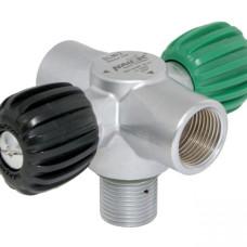 SLM/2-Ventil Nitrox 300 bar, M26x2