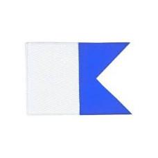 Alpha Flagge 51 x 61 cm