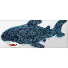 Blue Spikey Shark 75 cm