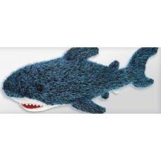 Blue Spikey Shark 75 cm