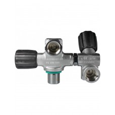 Scubatec Monoventil mit Zweitabgang links Air 230
