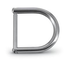 D-Ring mit Öffnung 40mm