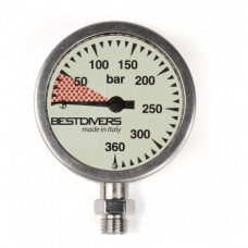 Manometer Mineral 400 bar D 63 cm